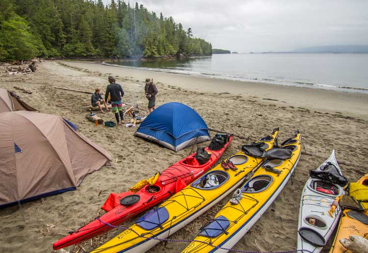 Overnight Kayak Tours