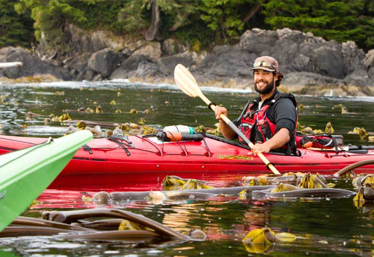 Guided Kayak Tours BC